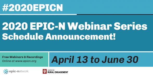 Announcing EPIC-N's First Free Webinar Series!